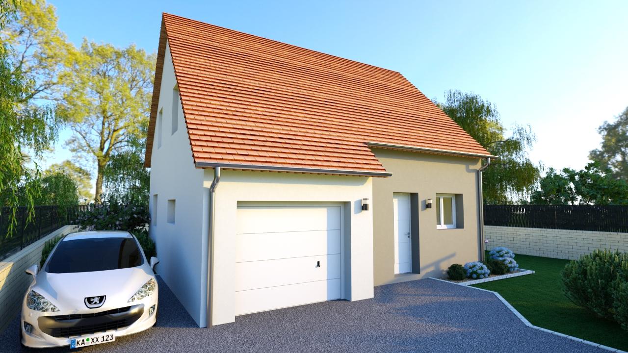 Maison traditionnelle 85 m²