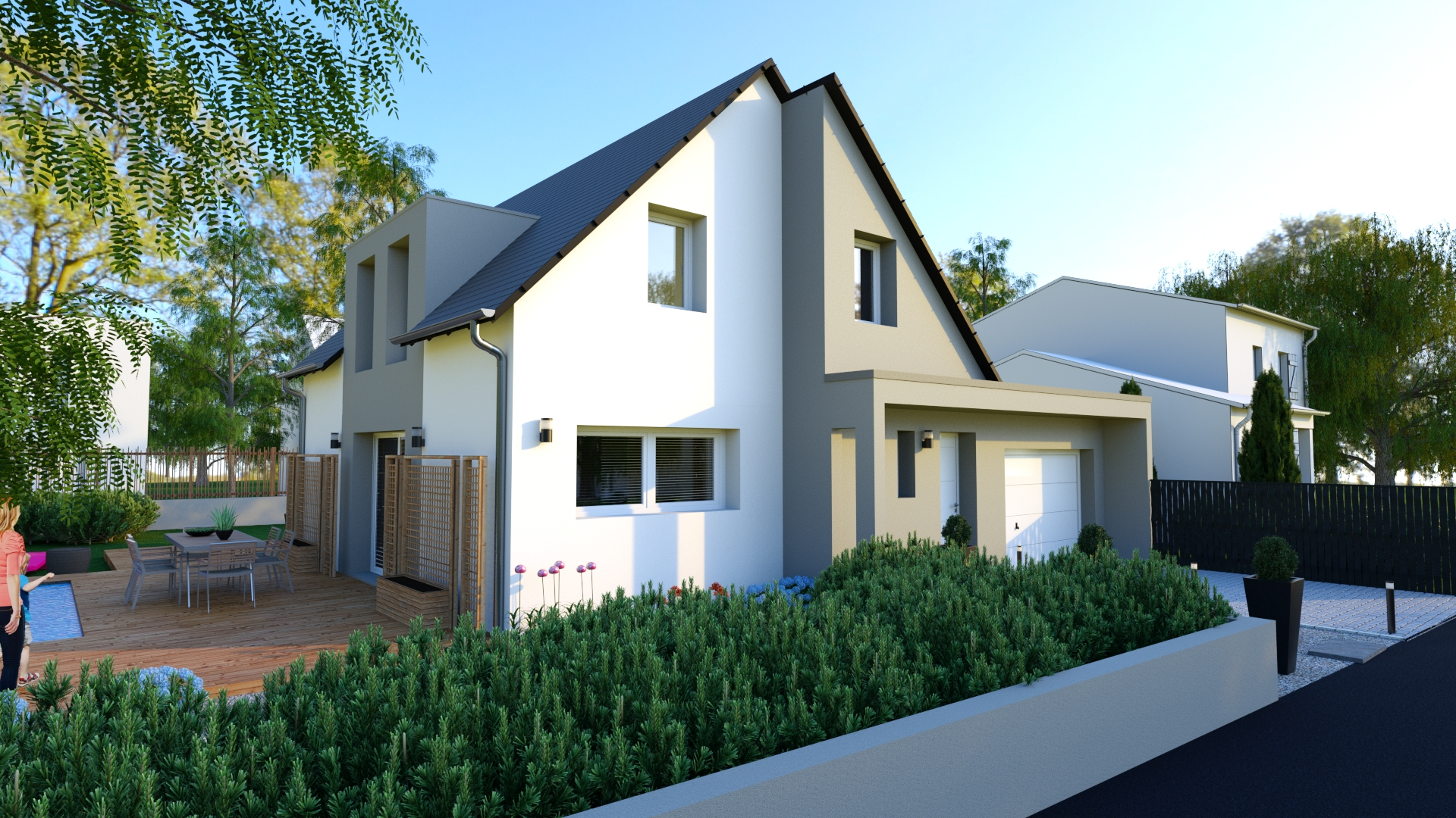 Maison traditionnelle 95 m²